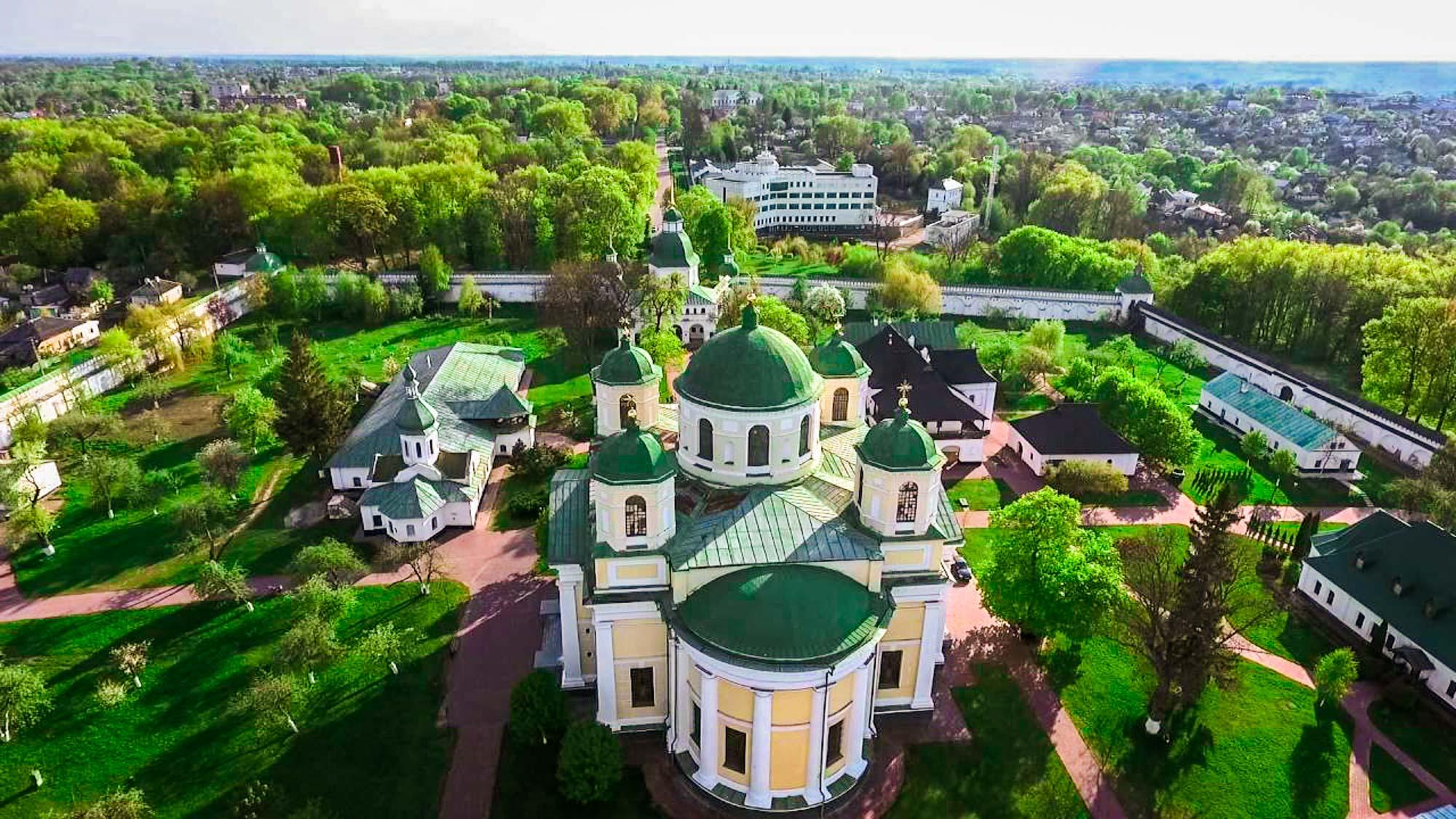 новгород-северский в картинках шикарный большой парк