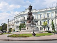 Monument to the founders of Odesa