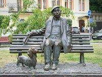 Monument to Artist Mykola Yakovchenko