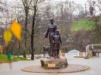 Памятник «Древлянская княжна Малуша»