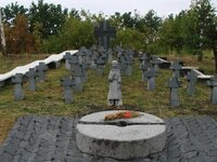 Holodomor Memorial in Obukhov