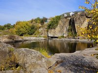 Boguslavsky granite outcrop